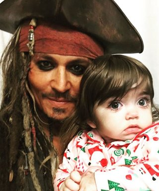Johnny Depp Dresses as Jack Sparrow to Cheer Children's Hospital Patients