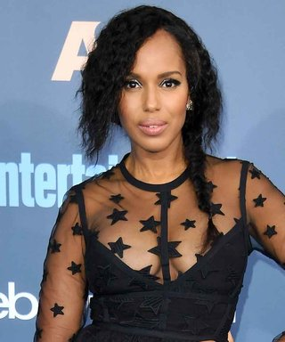 Kerry Washington Is One Hot Mama in a Sheer Mini at the CCAs