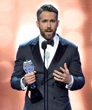 Ryan Reynolds Gives Blake a Hilarious Shout-Out Accepting Award
