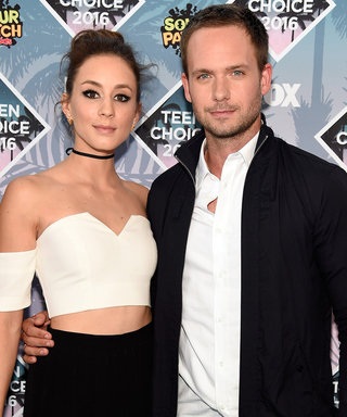 Troian Bellisario and Patrick Adams Got Married in a Sweet Camp-Themed Wedding