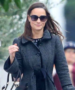 Pippa Middleton Just Wore the Perfect Holiday Coat (Bow Included)