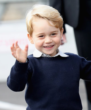 Prince George Is Already Ripping Open His Christmas Presents