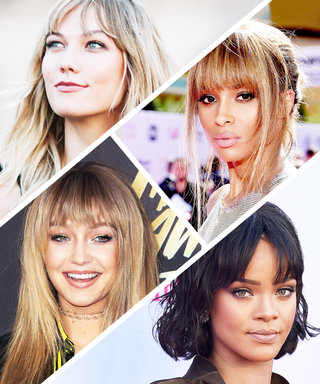 These Celebrities Made Us Want to Get Bangs in 2016