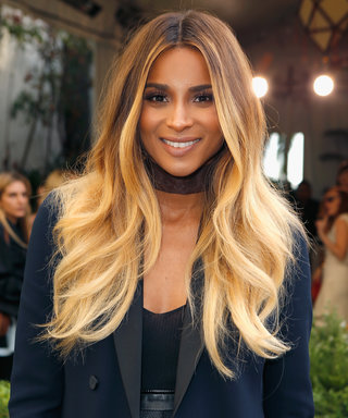 Ciara Shows Off Her Baby Bump (in Little More Than Her Calvins)