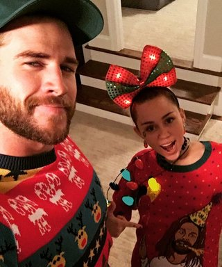 Miley Cyrus Festivates with the Hemsworth Family