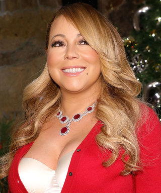 "Mariah Carey Is ""Festivating"" in Her Lingerie"
