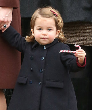 Princess Charlotte Braves the Cold (and the World) in Colored Tights