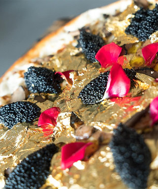 This $2,000 Pizza Is Topped with Gold Flakes