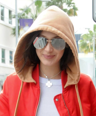 Bella Hadid Manages to Make a Tracksuit Look Oh So Sexy