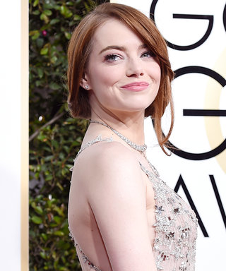 Watch Emma Stone's Hug Get Awkwardly Rebuffed at the Globes