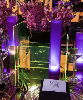 Watch This Cool Time-Lapse Video of the InStyle Golden Globes Party Setup