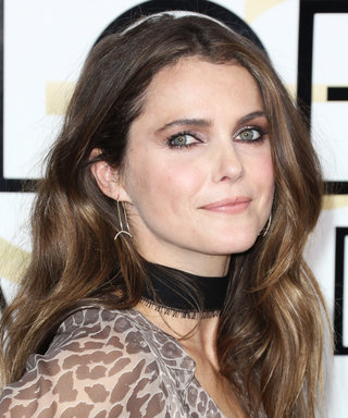 An Exclusive Look at Keri Russell's Golden Globes Beauty Prep