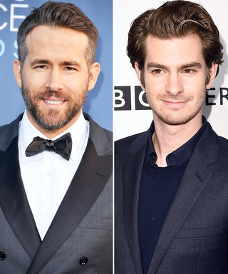 What Andrew Garfield Has to Say About Kissing Ryan Reynolds