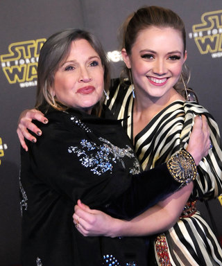 "Billie Lourd Tries to Find the Funny in Life: ""I Learned from the Best"""