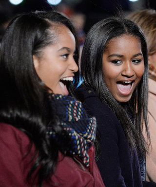 Look Back at Malia and Sasha Obama's First Visit to the White House