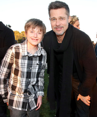 Brad Pitt Surfaces to Support a Worthy Cause