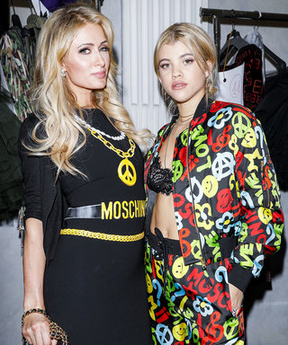 Sofia Richie and Paris Hilton are BFF Goals at Moschino Show