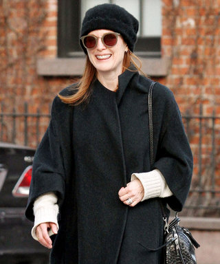 Julianne Moore Teaches Us a Lesson in Stylishly Braving the Cold