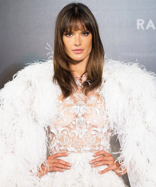 Alessandra Ambrosio Is Living the Life Eating French Fries in Couture
