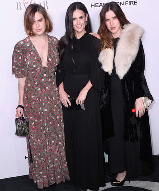 A Family Affair! Demi Moore and Daughters Hit the Red Carpet