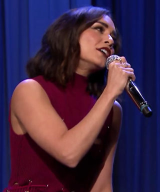 Vanessa Hudgens Sang the Friends Theme with Jimmy Fallon Last Night