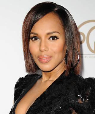 Kerry Washington Is Celebrating Her 40th Birthday with a Massive Cake