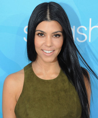 Kourtney Kardashian Swears by This Drugstore Staple for Longer Lashes