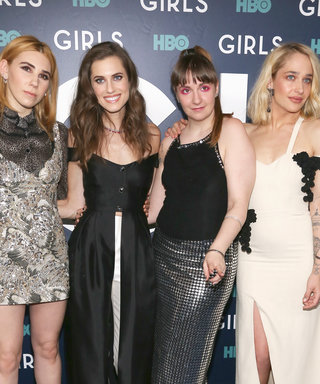 The Girls Stars Brought Their Fashion A-Game to the Final Season Premiere