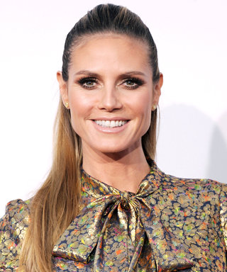 Heidi Klum Risks the World's Weirdest Tan Lines in Her Haste to Bake