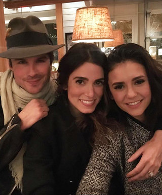 Nikki Reed Ends Nina Dobrev Feud Rumors with a Flick of a Pen