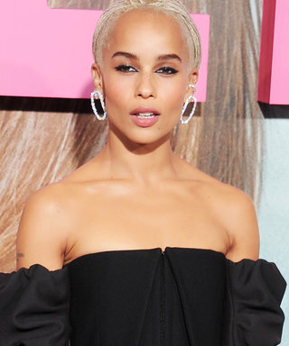 Zoë Kravitz Just Wore Our Dream LBD