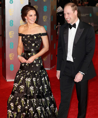 Kate Middleton Stuns at BAFTAs Alongside Prince William