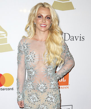 Britney Goes for it in Sheer Dress at Pre-Grammy Gala