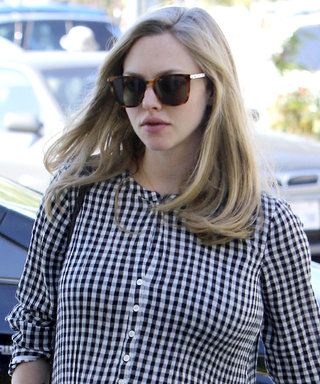 Amanda Seyfried's Casual-Cool Maternity Style