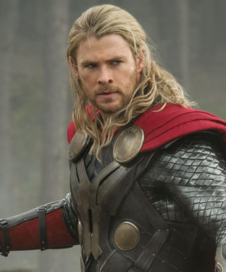 Shirtless Chris Hemsworth Shows Off His Bulging Muscles in Hilarious Thor Spoof