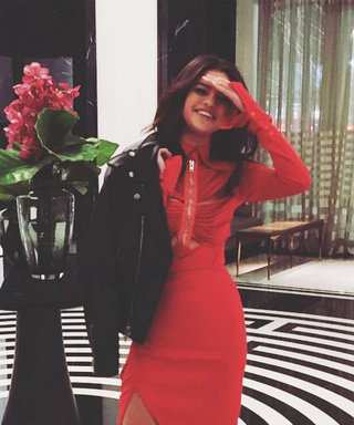 Selena Gomez Spent Valentine's Day in the Sexiest Red Dress