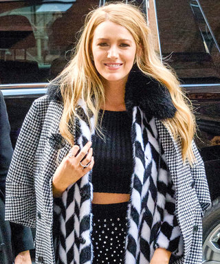 Blake Lively Bares Her Abs in Perfectly-Mixed Prints