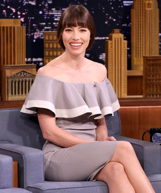 "Jessica Biel Cops to Eating in the Shower and Other ""Mom Life"" Habits"