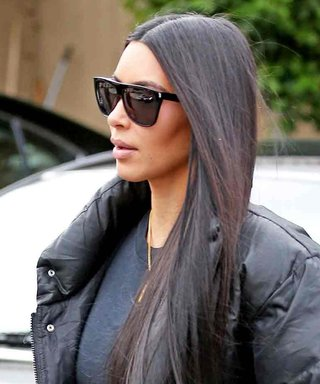 Kim Kardashian West Goes Very, Very Casual in Puffer Coat and Sweats