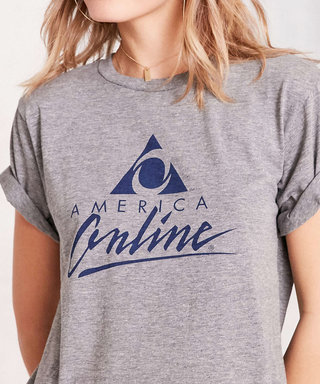 You Won't Believe How Much UO Is Charging for an AOL T-Shirt