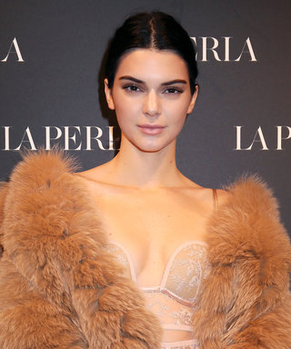 Kendall Jenner Looks Sexier Than Ever in Sheer Lace Bodysuit & Silk Pants