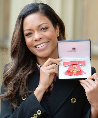 Naomie Harris Left Buckingham Palace with a Little Gift from the Queen