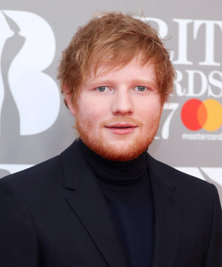 Ed Sheeran Gives His Girlfriend His Sneakers When Her Heel Breaks