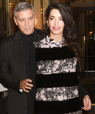 Amal Clooney Perfects Parisian Date-Night Maternity Style