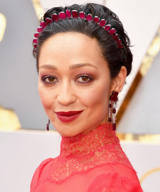 Ruth Negga's Headband Is Like a Low-Key Tiara