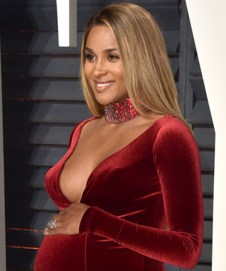 Ciara Brought Her Red-Hot Maternity Style to the Oscars After-Parties
