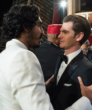 Dev Patel and Andrew Garfield Gave Us the Bromance of Oscar Night