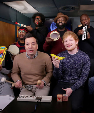 "Watch Ed Sheeran Use Classroom Instruments to Perform ""Shape of You"""