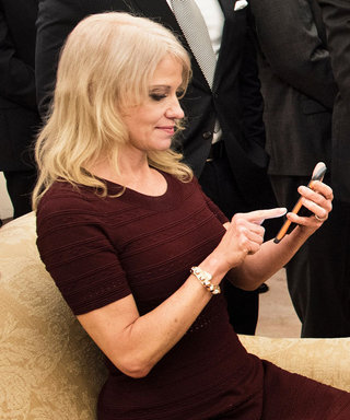 The Internet Has Some Strong Feelings About This Photo of Kellyanne Conway