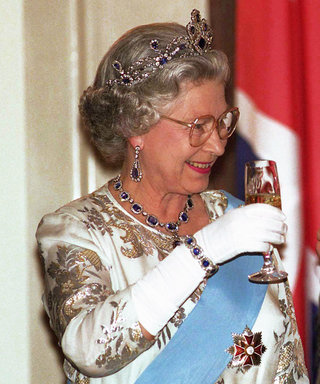 Baller Queen Elizabeth Ends Every Day with a Glass of Champagne